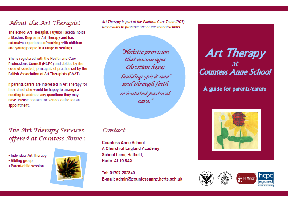Art Therapy Leaflet